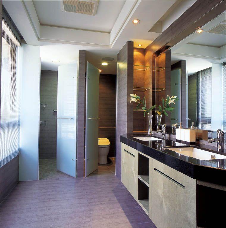简约实用卫浴空间
