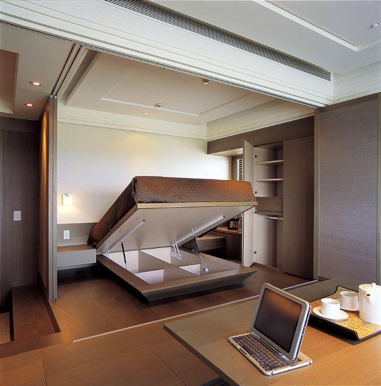 客卧的神奇收纳空间