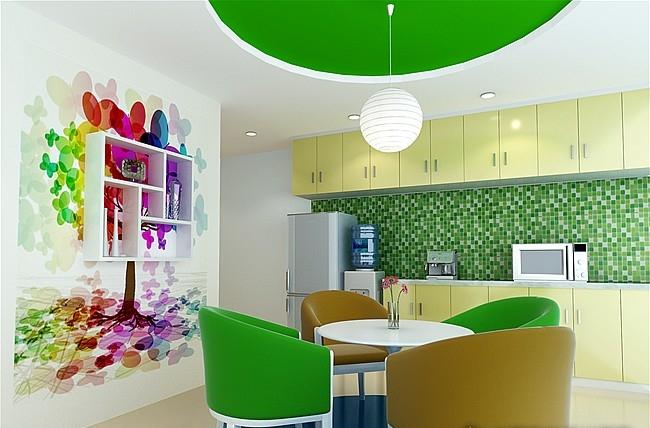 创意办公室效果----室内外设计