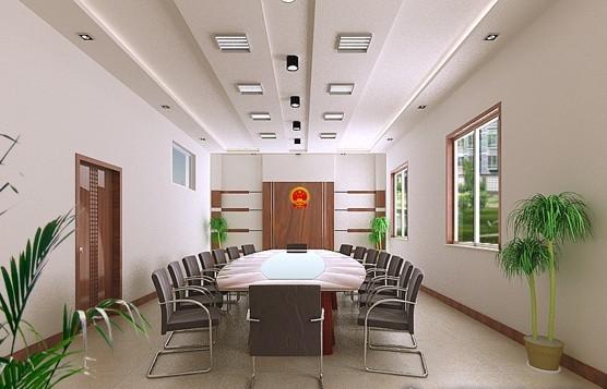荣誉室装修效果图 高清图片