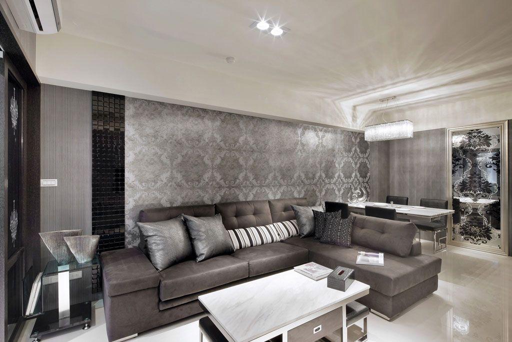 华丽的沙发墙