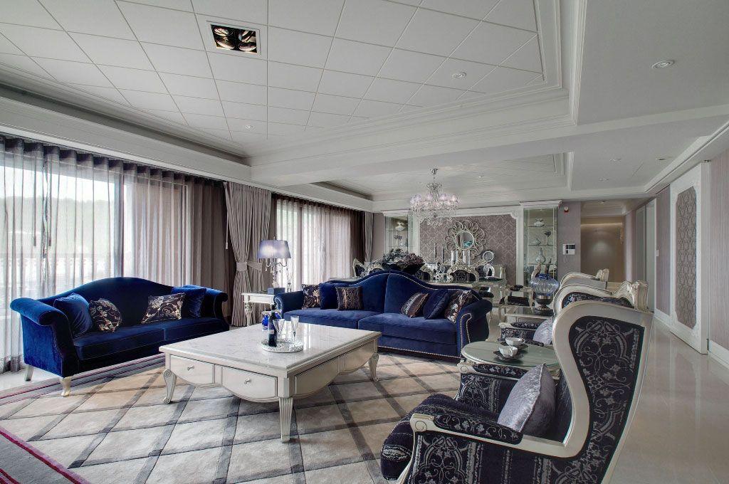 新古典多彩客厅
