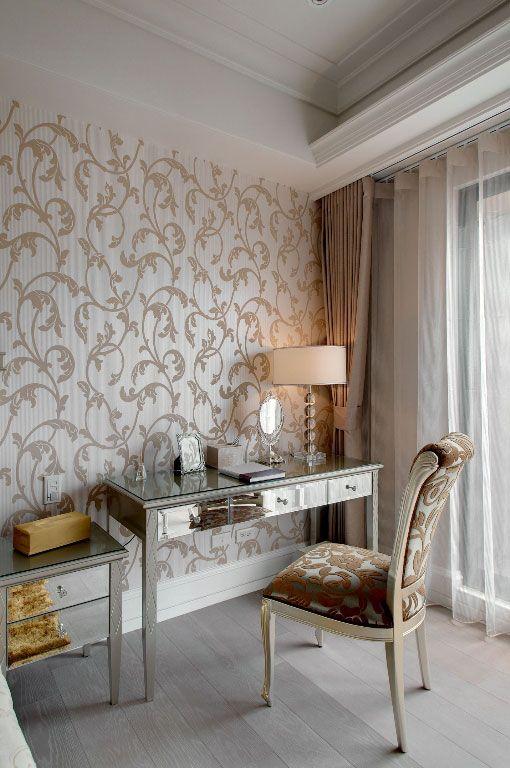 古典卧室书桌