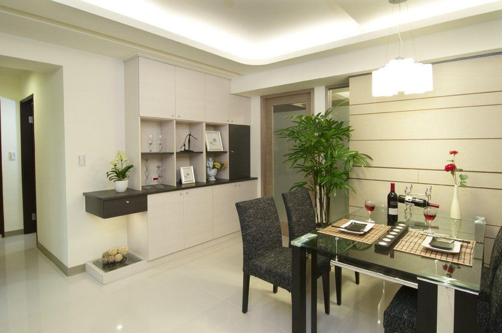 餐桌椅 餐边柜装修效果图 爱绿居 新中式海棠木家具 全实木餐边柜图片