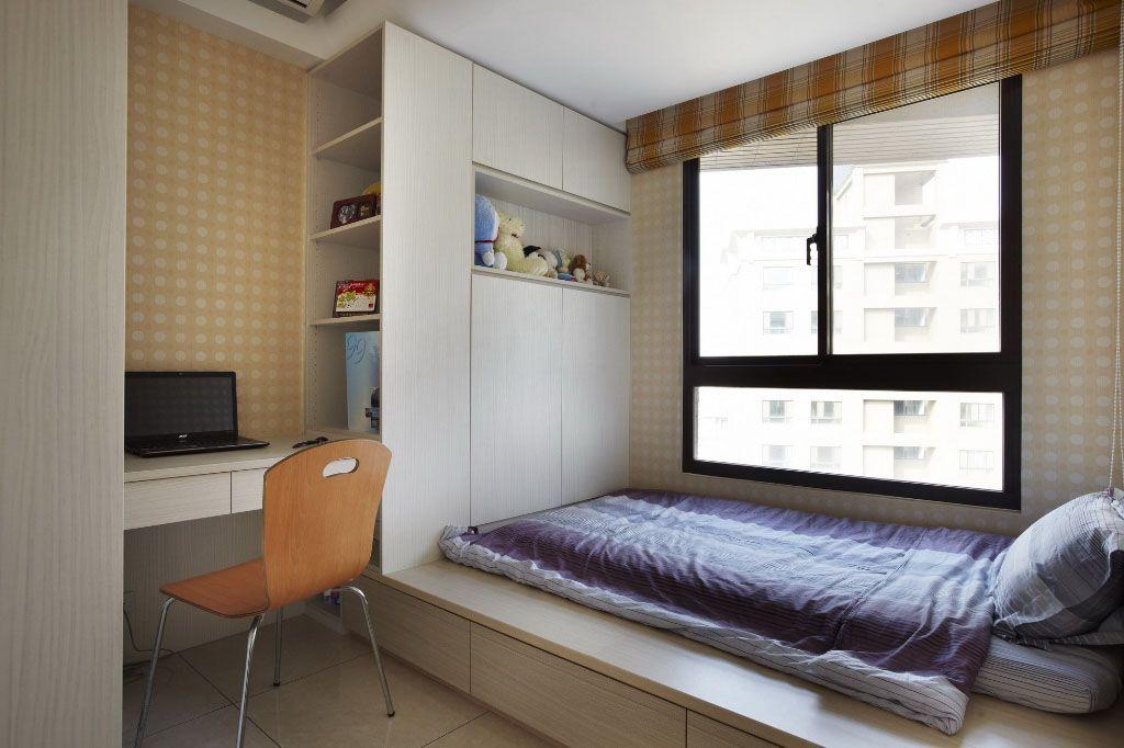 经典时尚蓝亮色系家居装修效果图图片