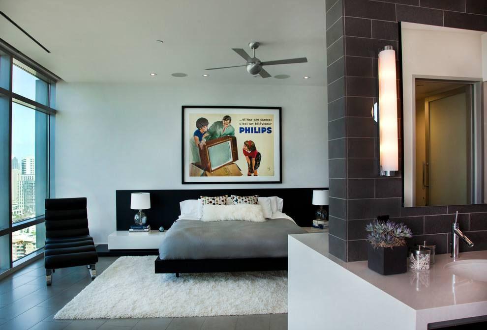 40平都市风格小卧室装修效果