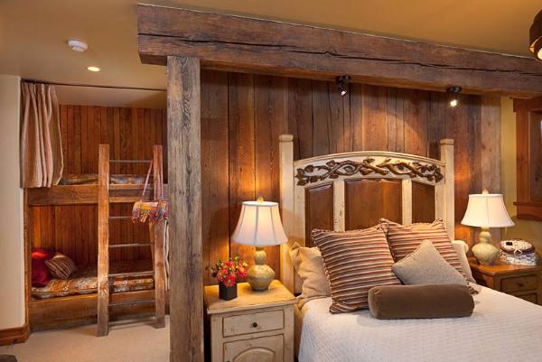 欧式风格复古卧室