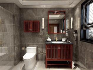 新中式卫浴空间