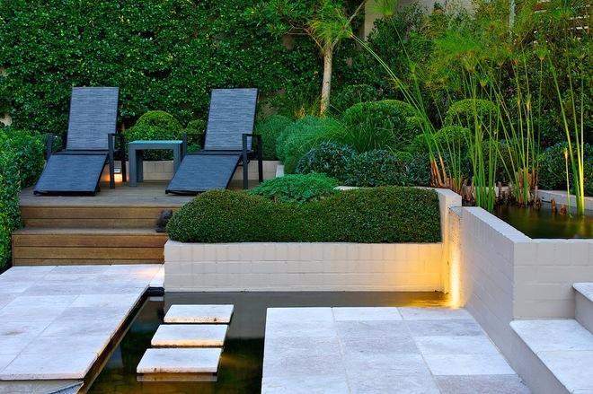 享受阳光 庭院景观设计