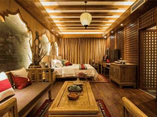 木结构特色民宿客房