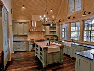 复古橱柜厨房装修