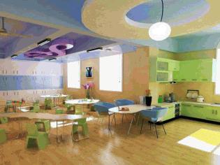 金宝贝早教中心设计