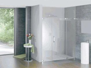 现代风格淋浴房