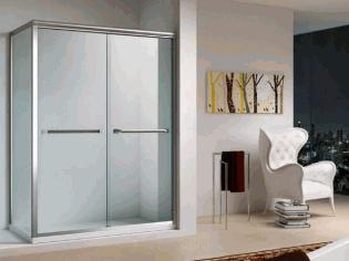 玻璃淋浴房效果图
