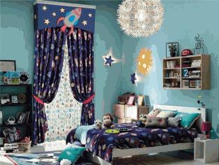 星空装饰创意儿童房