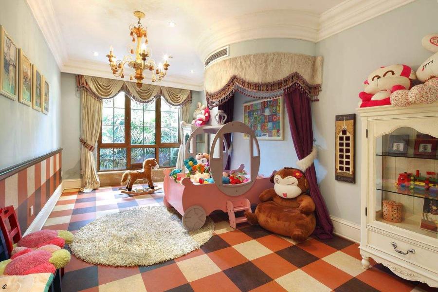 欧式风格豪宅儿童房