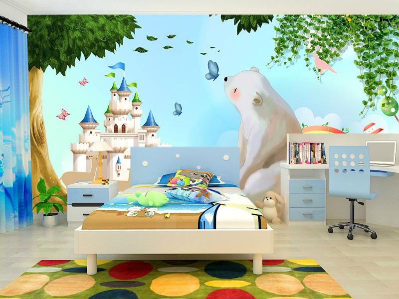 童话森林儿童房