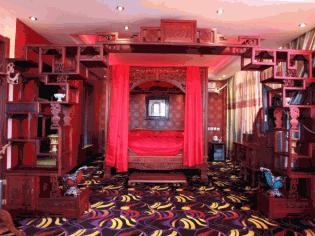 传统中式婚礼婚房